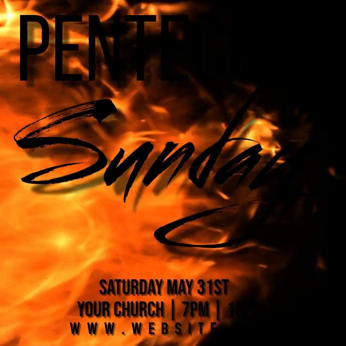 pentecost event TEMPLATE 方形(1:1)