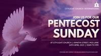 pentecost sunday church flyer