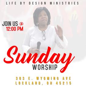 Sunday Worship Invitation