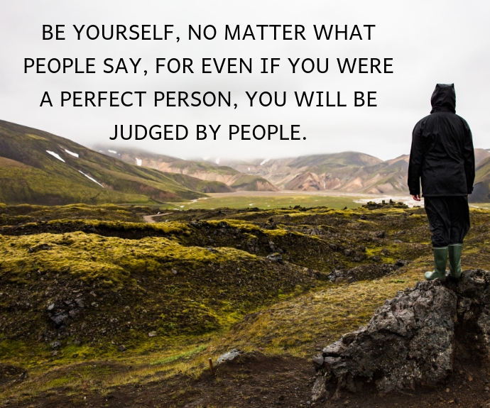 PEOPLE AND JUDGEMENT QUOTE TEMPLATE Middelgrote rechthoek