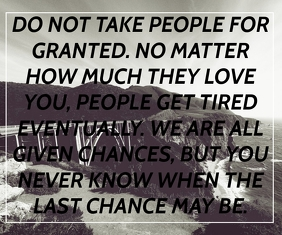 PEOPLE AND LOVE QUOTE TEMPLATE