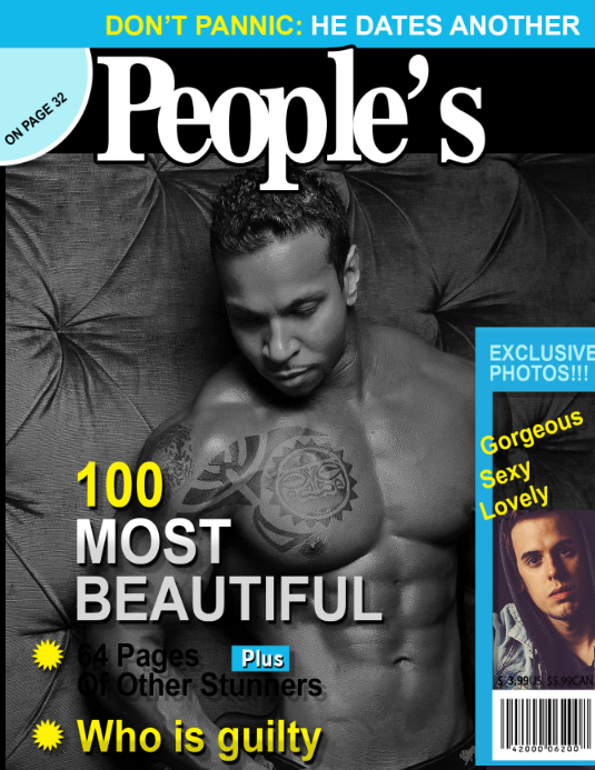 peoples magazine cover template postermywall