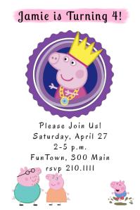 Peppa's Invite