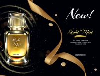 PERFUME Flyer (US Letter) template