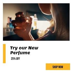 perfume sale template