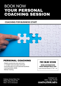 Personal Coaching Life Business Start up Ad