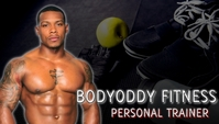 personal trainer business card athletic exercise