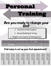 personal training templates