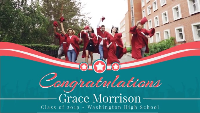 Personalised Congratulations Video for Gradua