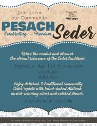 Pesach Seder flyer