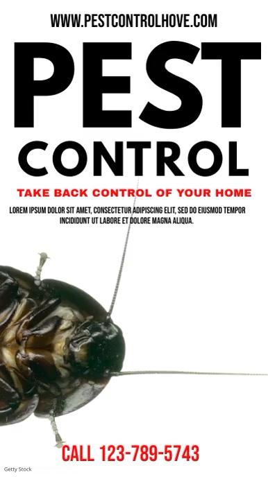 Pest Control Video Template