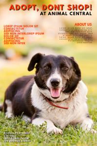 Pet Adobtion Flyer Template