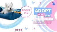 pet adopt Message Twitter template