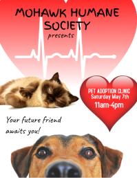Pet adoption event Flyer