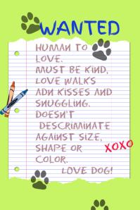 Pet Adoption Poster