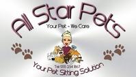 Pet Care Card Cartão de visita template