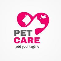 Pet Care Center Logo Template