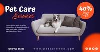 pet care Facebook Shared Image template