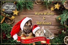 Pet Christmas Card