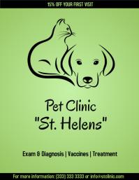 Pet Clinic flyer color
