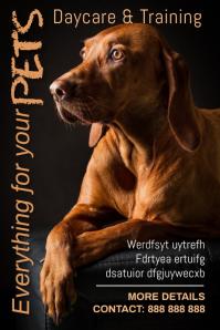 pet Poster template