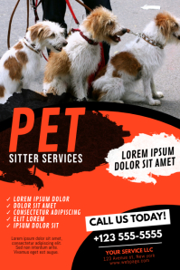 Pet Dog Cat Sitter Walker Service Business