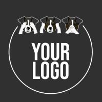 PET DOG LOGO DESIGN TEMPLATE Логотип