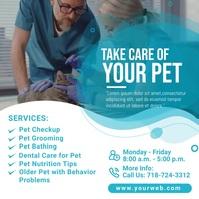 Pet Health Care Instagram Post Template