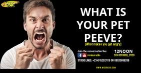 PET PEEVE Facebook Shared Image template