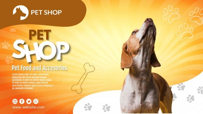 Pet Shop Cover Template