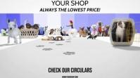 PET SHOP Digital Display (16:9) template