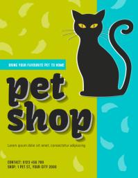 pet shop flyer