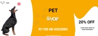 pet shop template Facebook Cover Photo