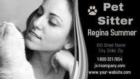 Pet Sitter Business Card