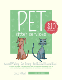 330 customizable design templates for pet sitter postermywall