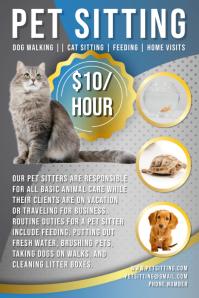 Pet Sitter Flyer