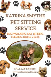 Pet Sitting & Walking Service Template
