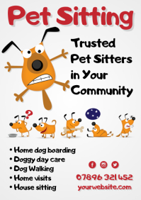 Pet Sitting Flyer