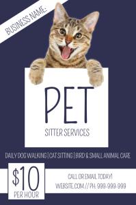 Pet Sitting Poster