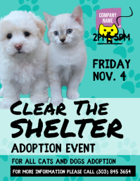 Pets Adoption Event Flyer