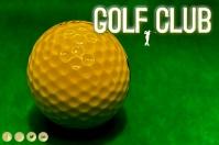 PGA Golf 2021 instagram Label template
