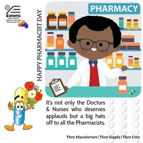 Pharmacist day Instagram Post template