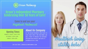 Pharmacy Advertisement Facebook Cover Video