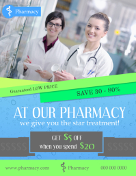 Pharmacy Advertisement Flyer