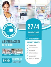 Pharmacy Iflaya (Incwadi ye-US) template