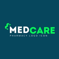 Pharmacy icon logo template