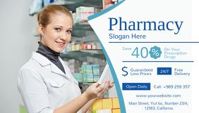 Customizable Design Templates For Pharmacist Business Card
