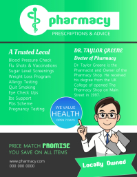 Pharmacy Prescription Flyer