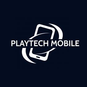 phone icon technology logo template Логотип
