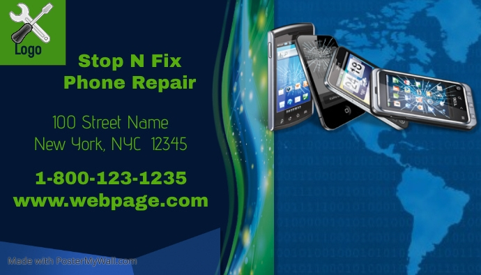cell phone repair flyer template seatle davidjoel co